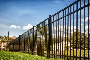 aluminum fence contractor collinsville troy fairview heights pontoon beach illinois fencing fences fence contractor collinsville il