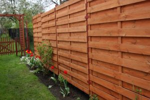 horizontal wooden fencing best fence company collinsville illinois