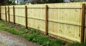wood privacy fence installation collinsville il