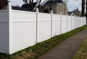 white vinyl fence installation maryville il
