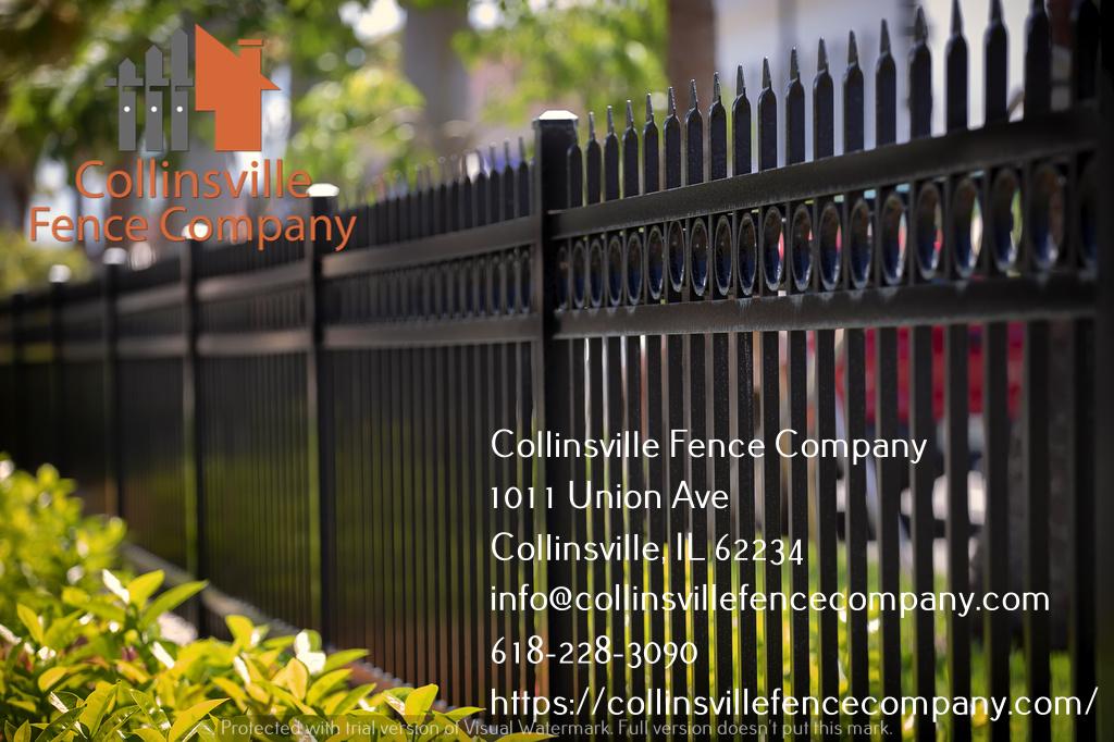 aluminum fence contractor collinsville il