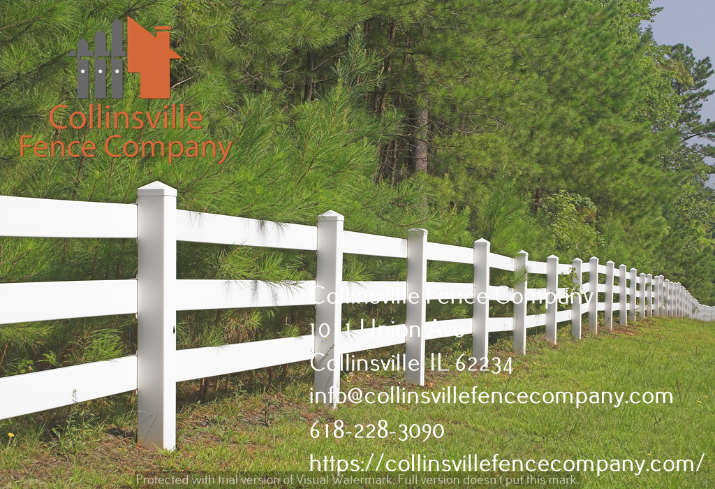 split rail fencing contractor collinsville il