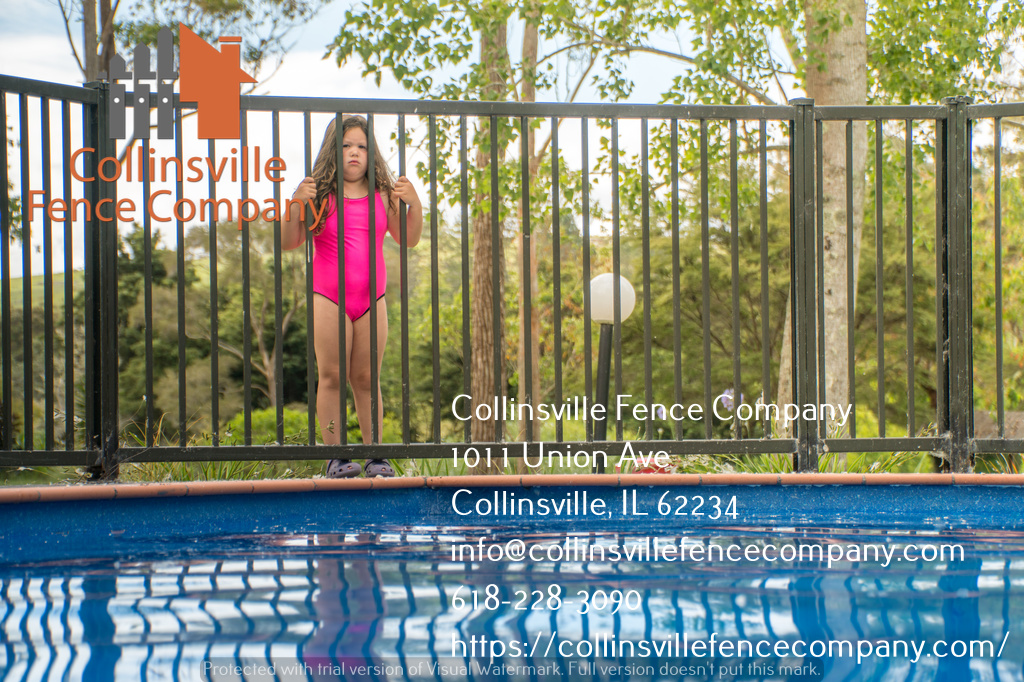 swimming pool fencing collinsville il