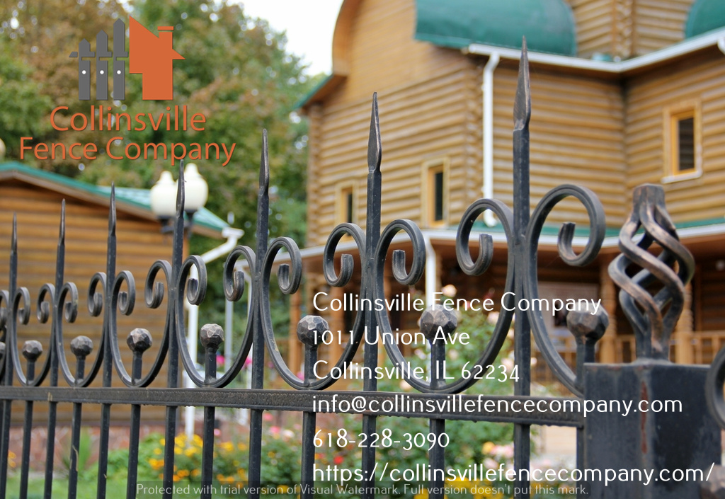 wrought iron fencing collinsville il